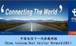中国电信出口网络的链路情况