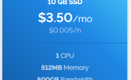美国vps Vultr4月特价VPS 1cpu/512m/10g/500G 纽约 $3.5usd/月
