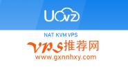 香港vps uovz 1cpu/384m/10gbssd/5tb/1000m/nat ¥66.66 月付