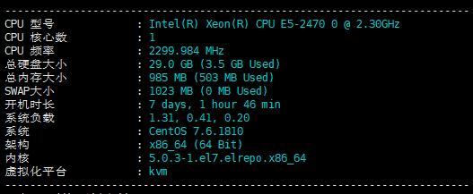 香港vps hkhoster 1cpu/1g/30g/100m/hkt不限流量/动态vps 75.99美元/月 测评